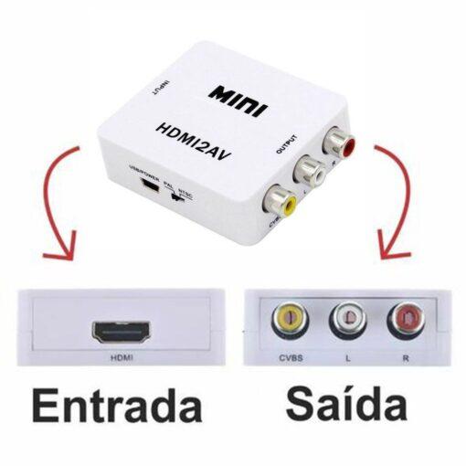 CONVERSOR HDMI x RCA PIX