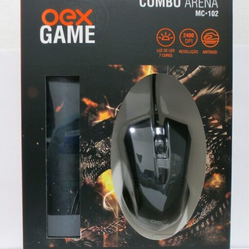 COMBO MAUSE E MOUSEPED GAME OEX